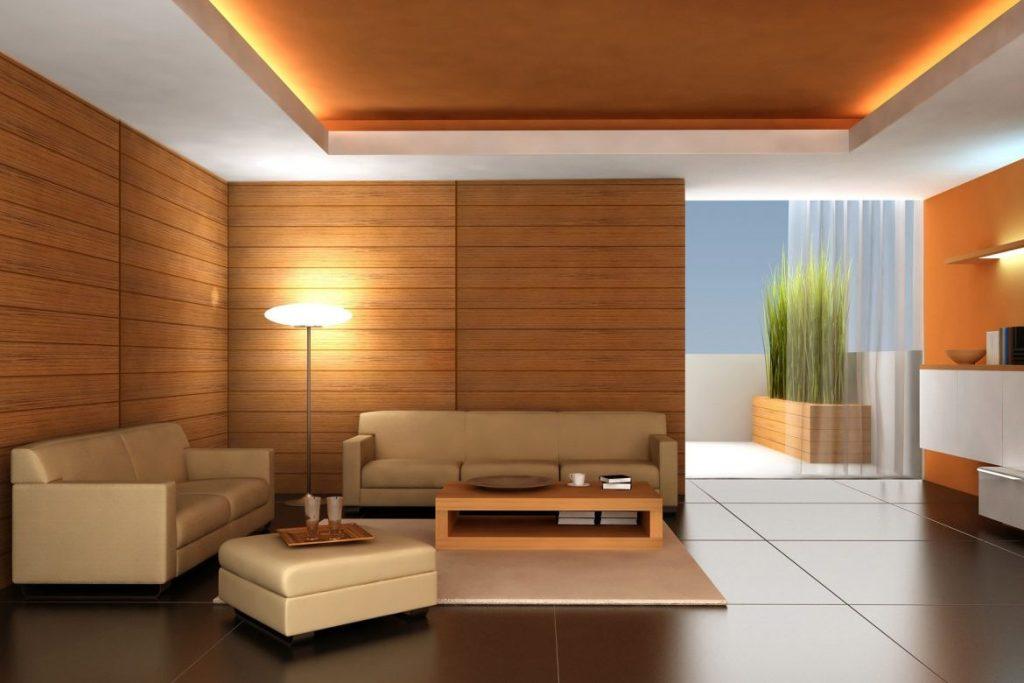 Подвесной потолок – креативный дизайн современного интерьера
