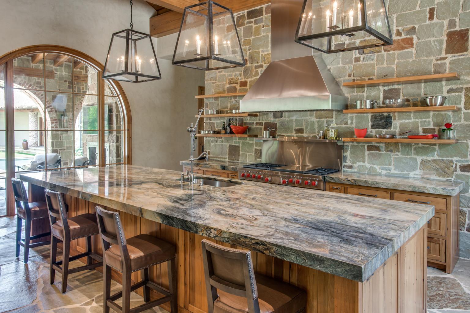 Кухня из камня Samplestone