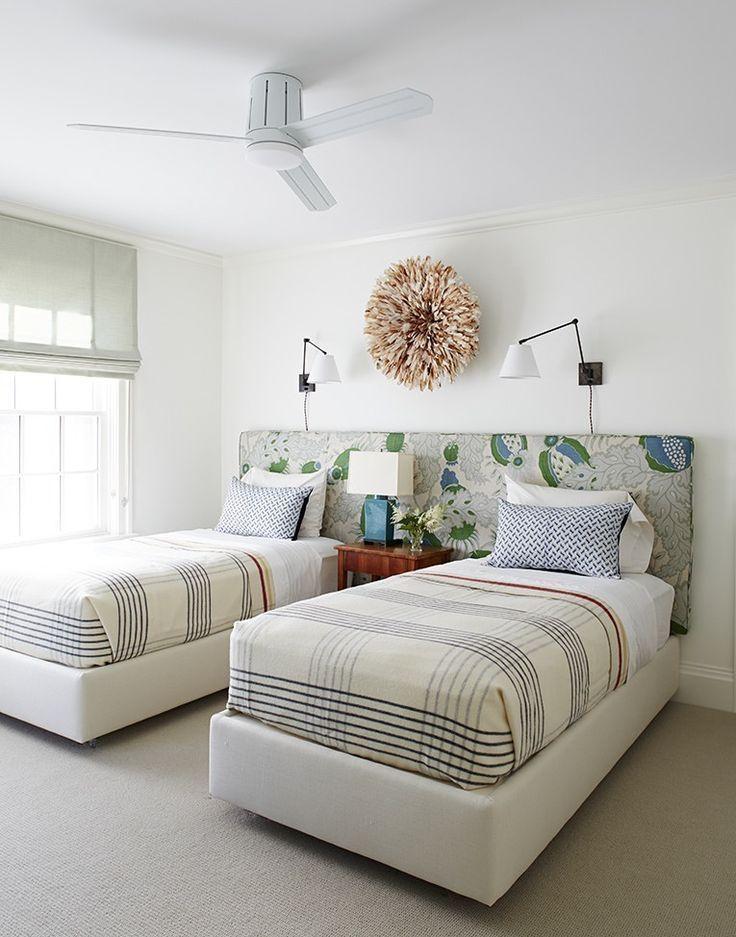 Оформление спальни: двойная комната