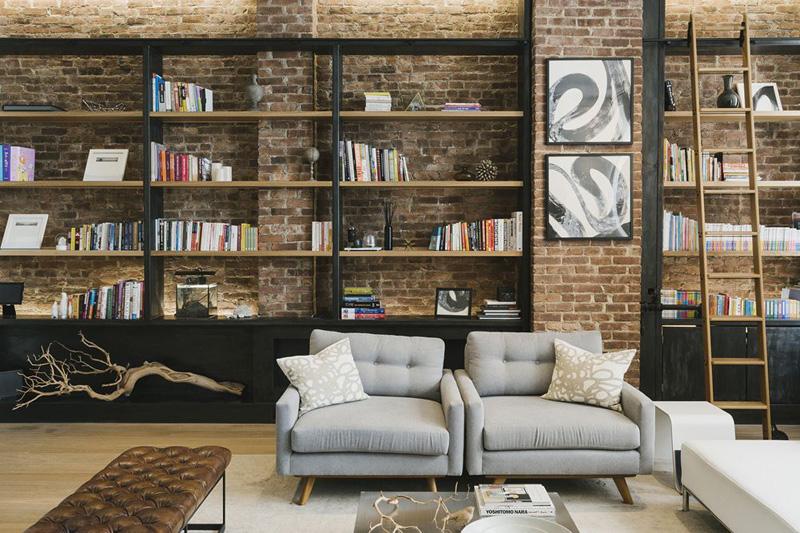 Роскошная квартира в Гринвич-Виллидж от RAAD Studio